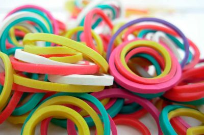 STATIONARY RUBBER BANDS
